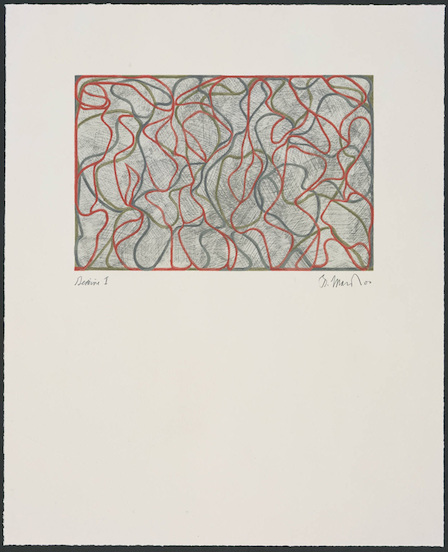 Brice Marden, Distant Muses