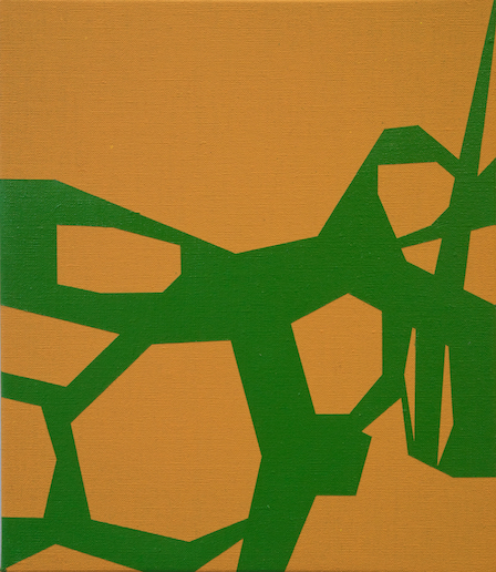 Jasper van der Graaf o. T. (orange-green)