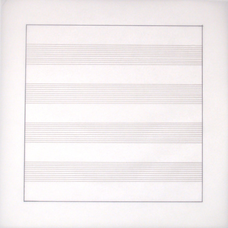 Agnes Martin, Untitled X