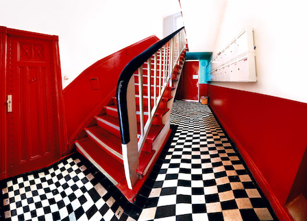 Raïssa Venables Red Stairs