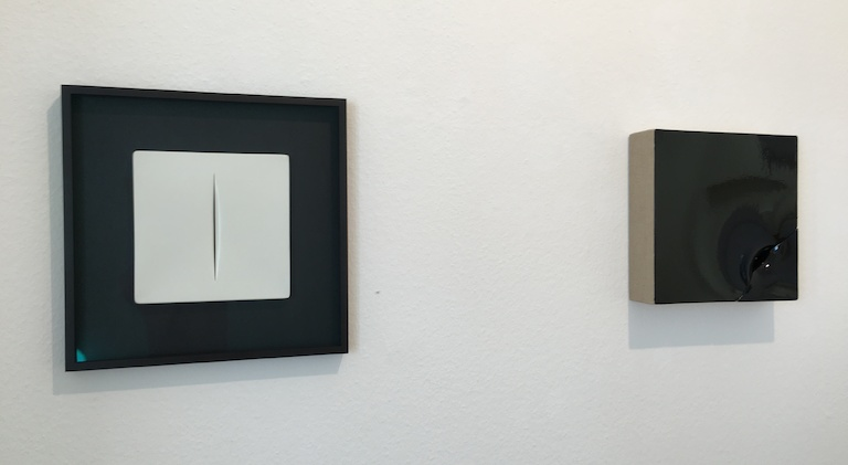MONOCHROME, Alfonso Fratteggiani Bianchi, Peter Tollens, Rolf Rose, Jan Maarten Voskuil, Marc Angeli, Dirk Rathke, Lothar Quinte, Phil Sims, Lucio Fontana, Agostino Bonalumi, Imi Knoebel